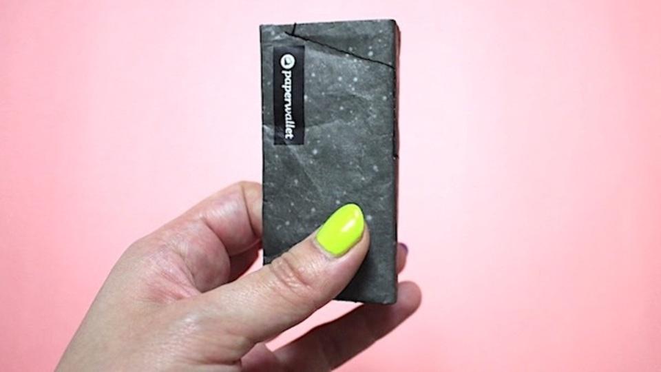 小さくてタフなお財布「paperwallet」、僕ならフェスに持って行く