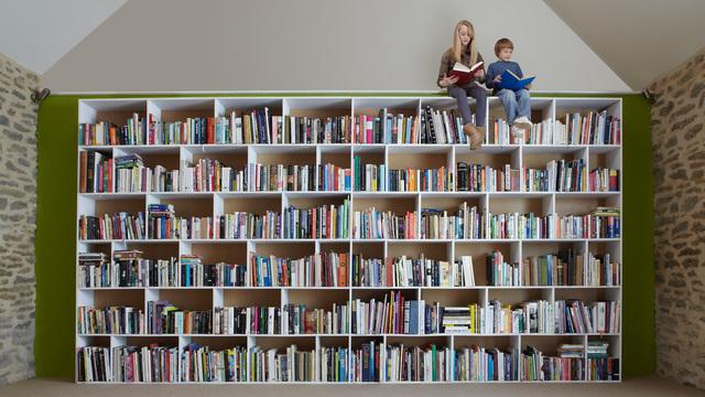 たくさん本がある家の子どもは読解力が高い:研究結果