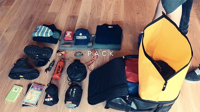 衣類圧縮袋を内蔵。見た目以上に荷物をパックできるバックパック【今日のライフハックツール】