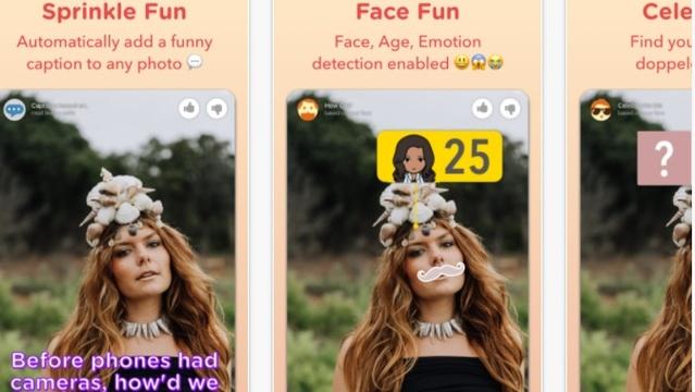 Microsoftのカメラアプリ『Sprinkles』にはあまりオリジナリティはないが一度使ってみる価値はある