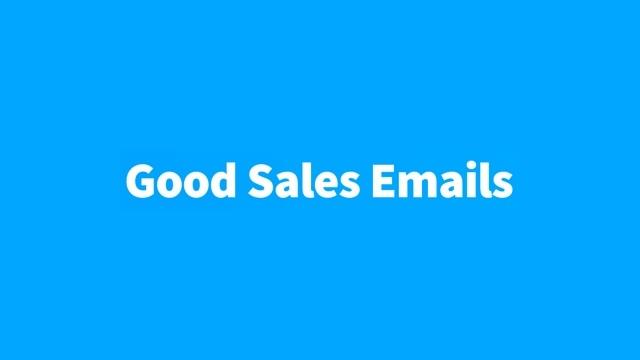 メールでの良いマーケティング例をまとめたサイト「Good Sales Emails」