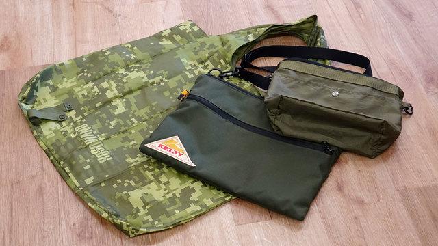 重いバッグを持ちたくないなら軽いバッグを組み合わせる【今日のライフハックツール】