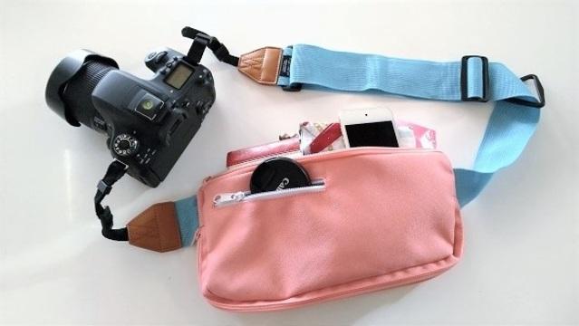 バッグ一体型カメラストラップで身軽に撮影を楽しもう【今日のライフハックツール】