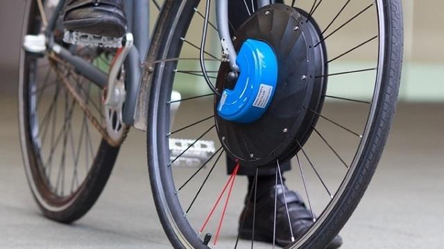 自分の自転車を「電動に変身」させる車輪
