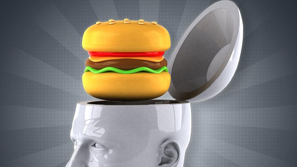 科学研究:食べ物が悪いと頭が悪くなる