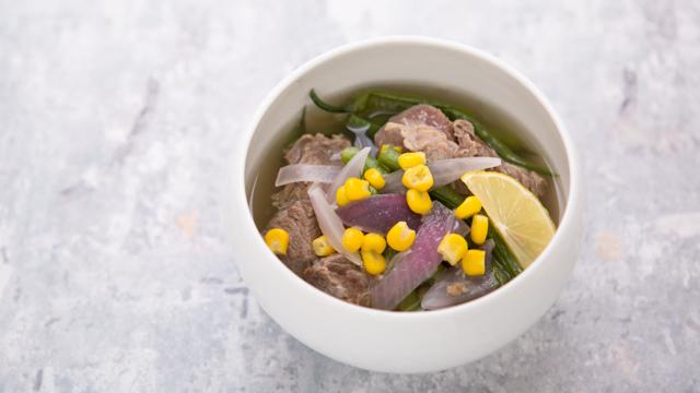 食べても太らない夜食:サラサラで低カロリーのフィリピンシチュー「ポチェロ」