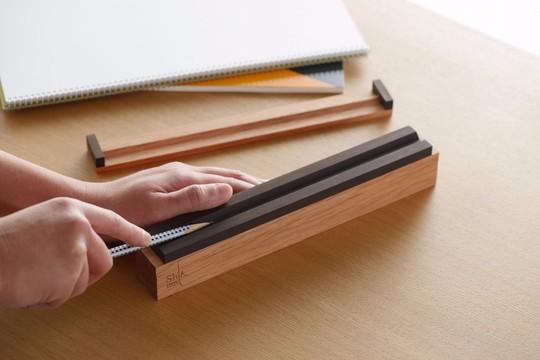 鉛筆を削りながら心を清める。かんな屋さんが作る、本気の鉛筆削り器
