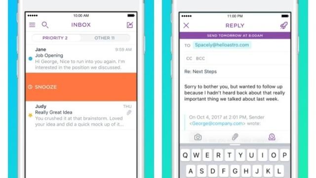 人工知能で受信トレイを管理するアプリ『Astro』