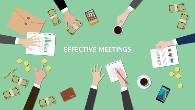 会議を生産的なものにするには、この4つのうち1つを実践してください