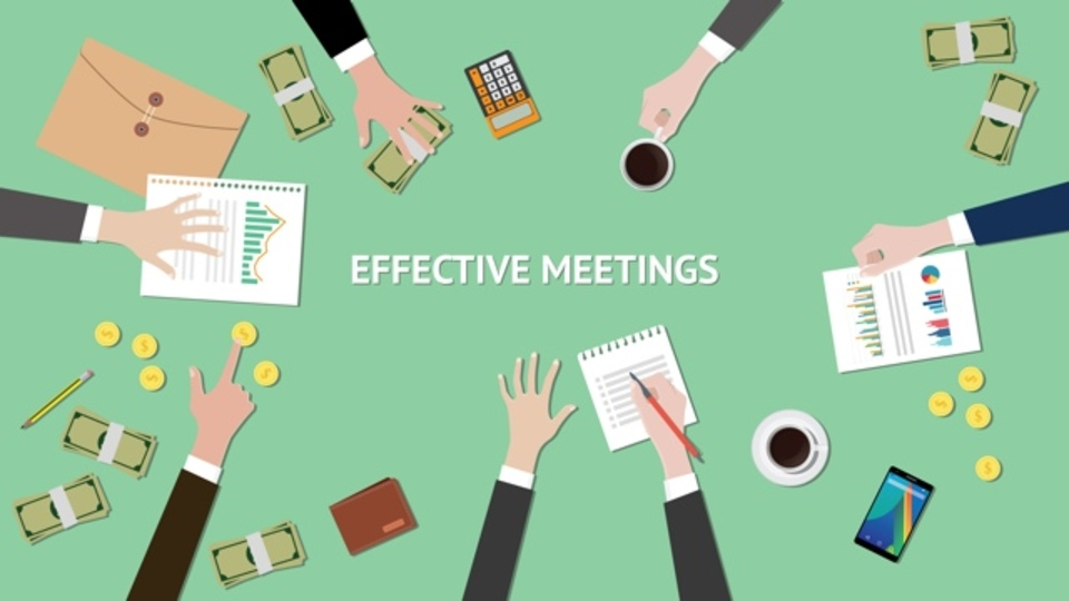 会議を生産的なものにするには、...