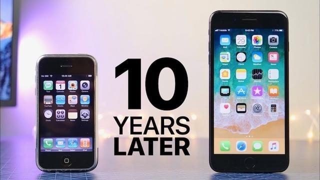 初代iPhoneとiPhone 7 Plus、どのくらい差がある?