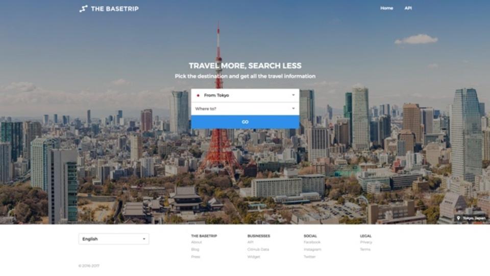 海外旅行に役立つ情報を国ごとに調べられるサイト「THE BASETRIP」