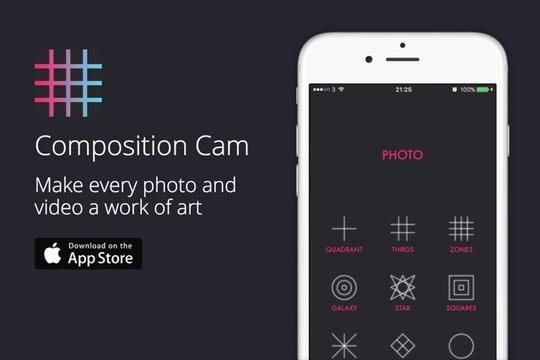 さまざまな構図の撮影が簡単になる「Composition Cam」