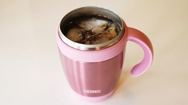 コンビニのアイスコーヒーがぬるくならない魔法マグ