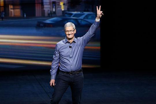「Appleの成功は『2つの理念』による」とティム・クック氏が語る
