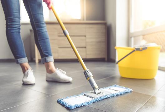 家をきれいに保つにはセクションに分けて掃除すると良い