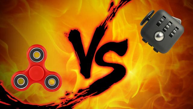 手遊びおもちゃ対決:ハンドスピナー vs. フィジェットキューブ