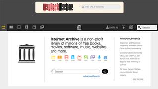 Internet Archiveの「Wayback Machine」でウェブページを永久保存しよう
