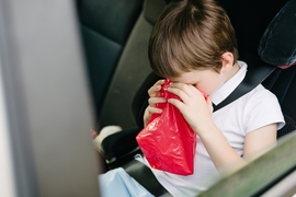 子どもの車酔い対策ですべきこと