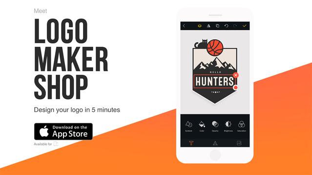 誰でも簡単にロゴを作成できるアプリ『Logo Maker Shop』
