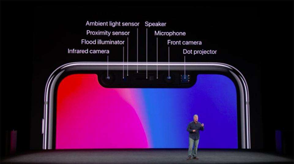 AppleのiPhone Xに搭載された「Face ID」について知っておくべきこと