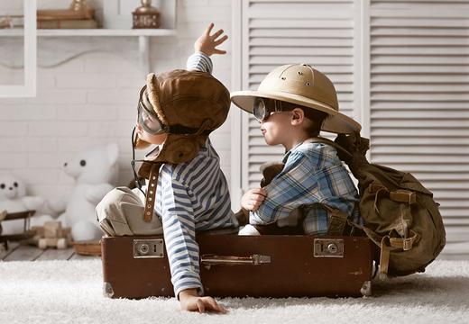 旅行やアウトドアに、DOPPELGANGERの多機能キャリーバッグ