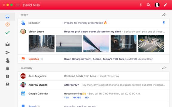 Gmail利用者向けMac用メールソフトアプリ『Boxy2』レビュー
