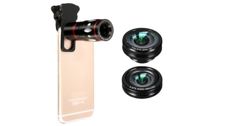 【本日のセール情報】Amazonタイムセールで80%以上オフも! 4種類のスマホ用レンズセットやiPhone用スポーツアームバンドがお買い得に