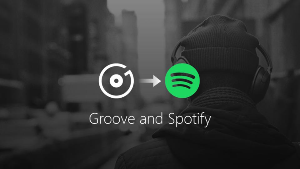 Microsoftの「Groove ミュージック」が年末でサービスを終了、その後はSpotifyと提携