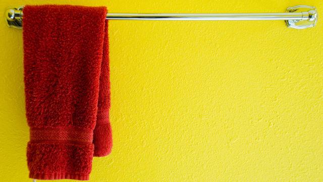 お願いだから、バスルームにはハンドタオルを用意しておいて
