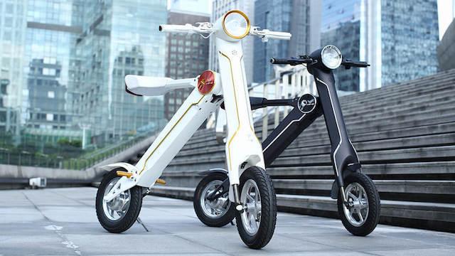 エコ&スマート。10秒で折りたためるe-Bike「Lehe K1」がクラウドファンディング中