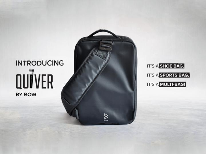 通勤、通学、スポーツに!多機能バッグ「Quiver」が資金調達を開始