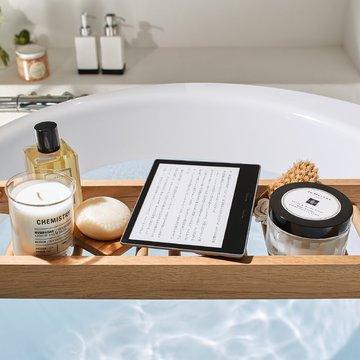 Amazon プライム会員なら4000円オフ! 防水性能など新機能が追加された「Kindle Oasis」が予約受付中