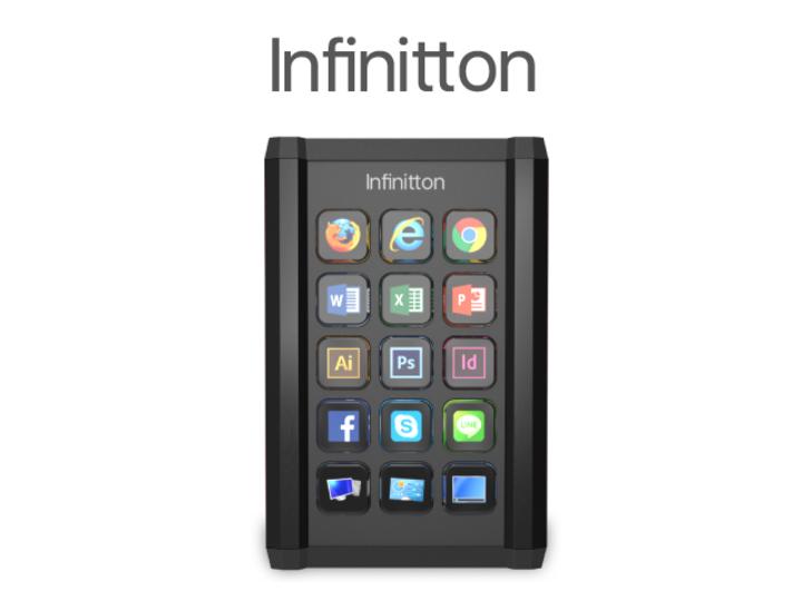 残り1日!プログラマブル液晶キーボード「Infinitton」の機能をおさらい