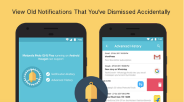 うっかり通知を消してしまっても安心なAndroidアプリ「Notification History Log」