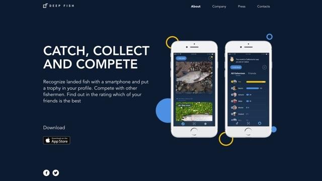 写真を撮るだけで釣った魚の名前が調べられるスマホアプリ『Deep Fish』