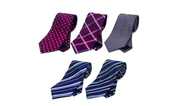 「洗えるネクタイ」が進化。メガネふきの機能を備えた洗えるネクタイ「Oldani」