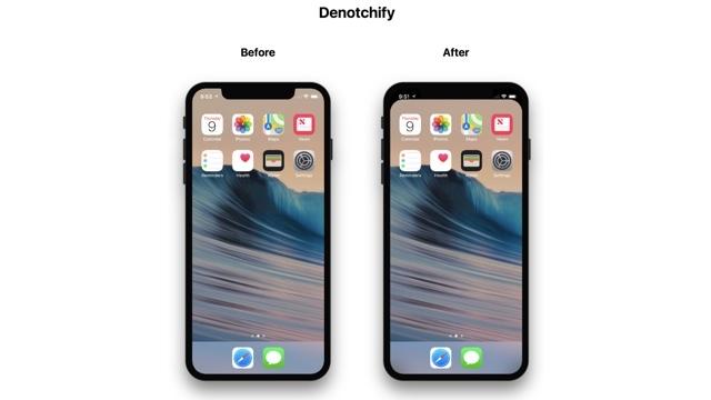 iPhone Xのノッチ部分を丸くする壁紙を作成できるサイト「Denotchify」