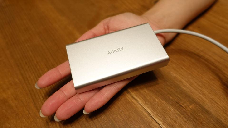 備えあれば患いなし! 出先やオフィスのレガシーデバイスも「AUKEY USB-Cハブ 8in1 CB-C55(第2世代)」で安心して対応できる【今日のライフハックツール】