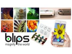 スマホを顕微鏡に変えるレンズセット「BLIPS」が日本に上陸