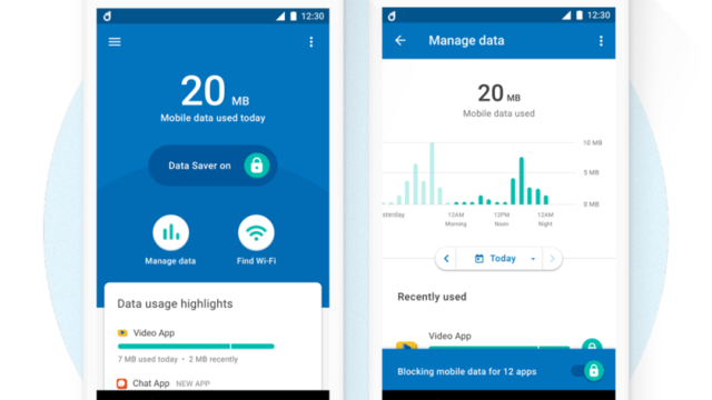 モバイルデータの使用量を監視できるGoogleの新しいアプリ「Datally」