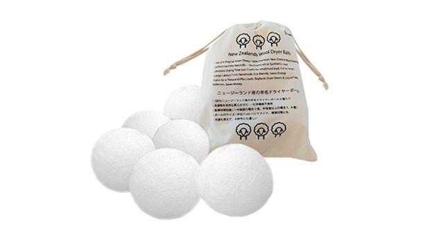衣類の乾燥時間を短縮。ニュージーランド産の羊毛を100%使った時短アイテム「ドライヤーボール」