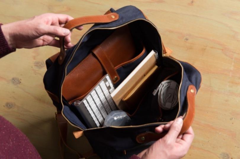 ビジネスシーンで活躍する多機能バックパック「Modern Day Briefcase」