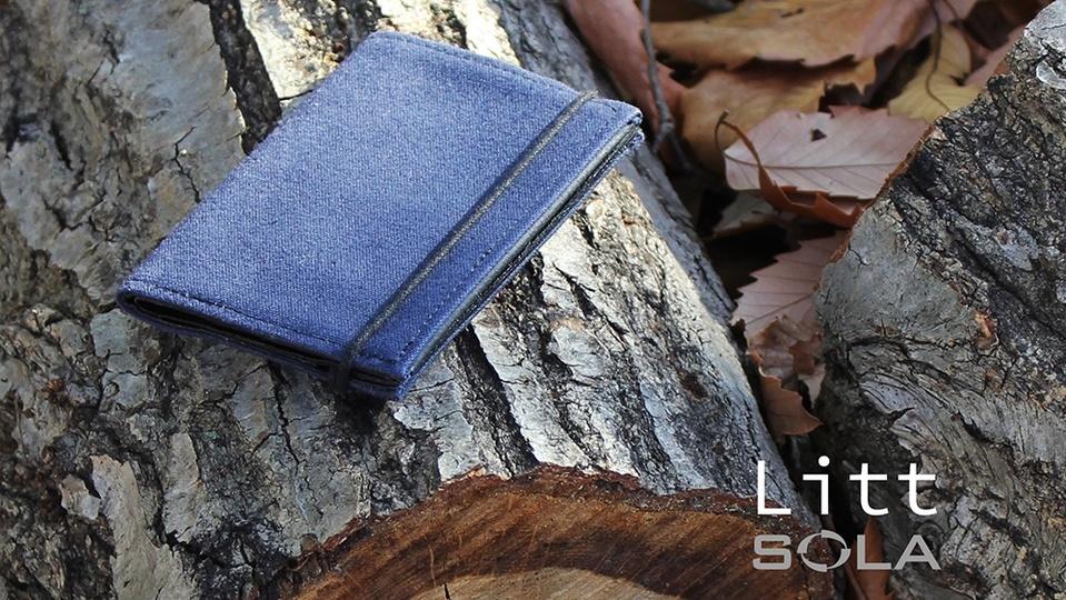 無駄のない「小ささ」と「薄さ」 。小さい財布「Litt 」のキャンペーンがスタート