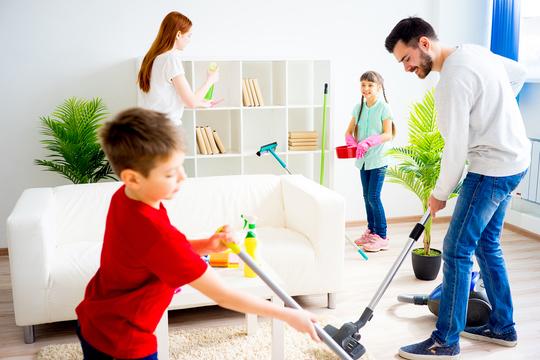 サボりがちな家の掃除を、楽しく効率的に片付けるコツ