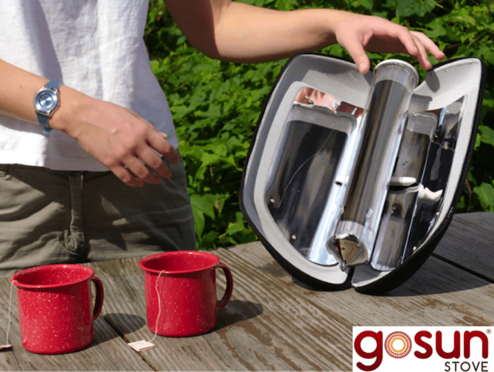 キャンプや登山に活躍しそう。太陽光でお湯が沸かせるソーラーオーブン「GoSun Go」がキャンペーン開始