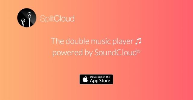 イヤホンの左右で別々の音楽を再生できるアプリ『SplitCloud』