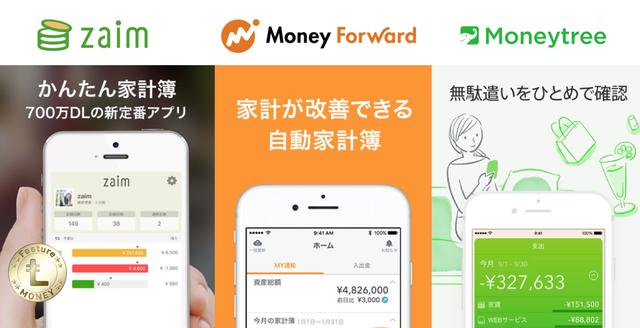 銀行口座やポイントも一括管理。外部連携できる家計簿アプリ3選