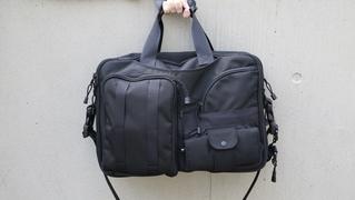 残り1日!一瞬で中身を見渡せる多機能ビジネスバッグ「SOHO BAG」