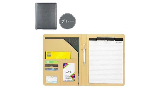 ノートや名刺もスマートに収納。会議や工場見学でも活躍するHomehaloのクリップボード